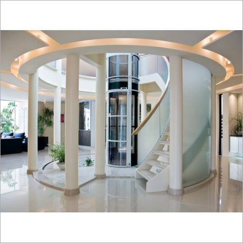 Glass Residential Elevator