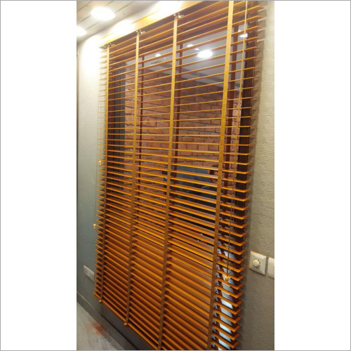 Teak Wooden Blinds
