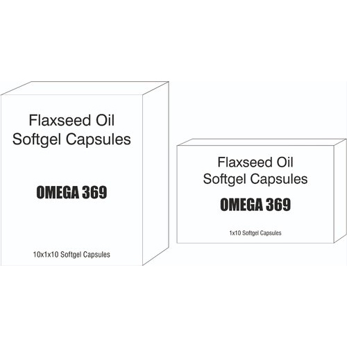 Omega 3-6-9 Flaxseed Oil Softgel Capsules
