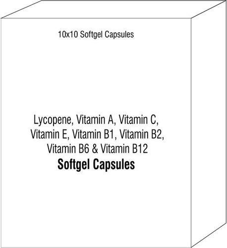 Lycopene Vitamin A Vitamin C Vitamin E Natural Softgel Vitamin B1 Vitamin B2 Vitamin B6 Vitamin B12