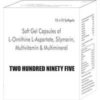 Soft Gel Capsules of L-Ornithine L-Aspartate Silymarin Multivitamin and Multimineral