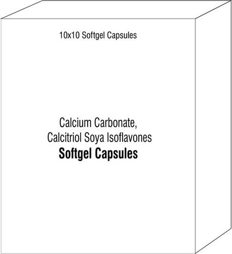 Calcium Carbonate Calcitriol Soya Isoflavones