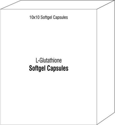 Softgel Capsules Of L-glutathione