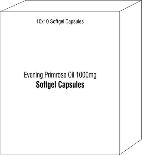Softgel Capsules Of Evening Primrose Oil 1000mg