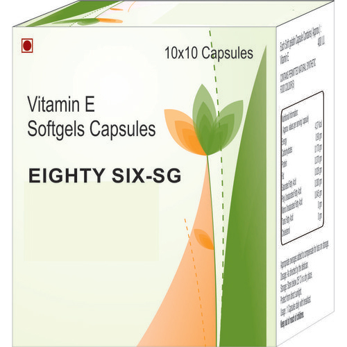 Vitamin E Softgels Capsules