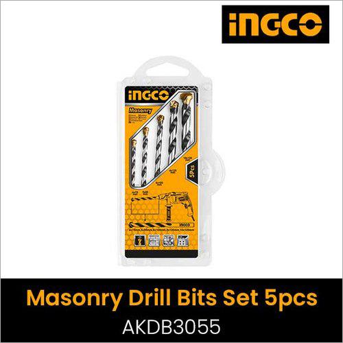 5Pcs Masonry Drill Bits Set