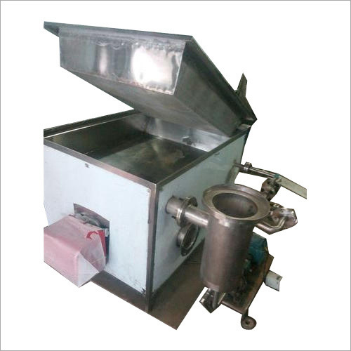 Semi Automatic Batch Fryer Machine
