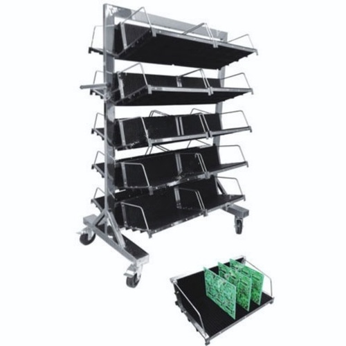 PCB Storage Trolley with Hanging Rack
