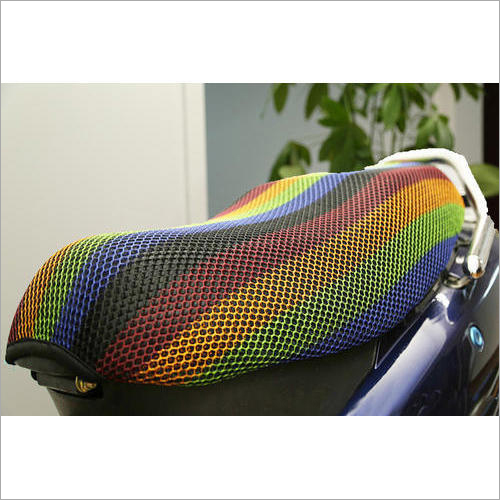 Scooty Seat Cover Net Fabric