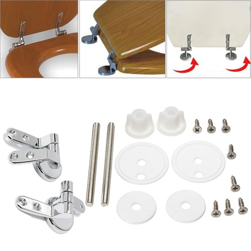 Toilet Seat Cover Brass Hinges for Wooden