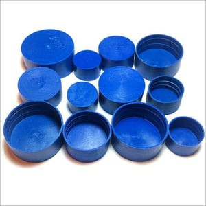 Stainless Steel Pipe LLDPE Plastic End Cap