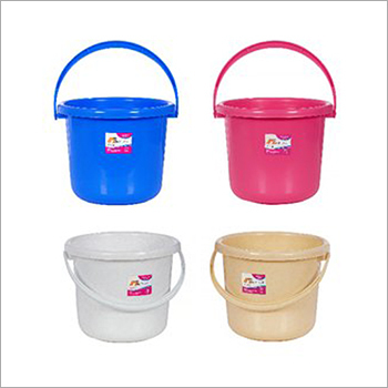 25 Ltr Plastic Plain Bucket Set