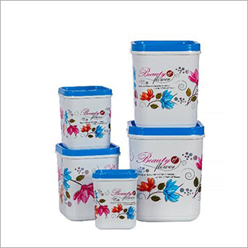 Household Plastic Container Set
