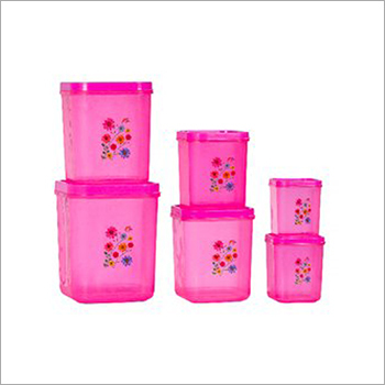 Plastic Storage Container Set