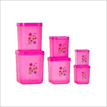 Square Plastic Container Set