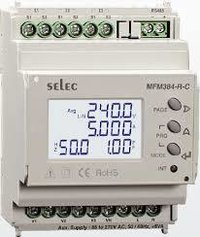 Selec MFM384-R-C-CE Multifunction Meter