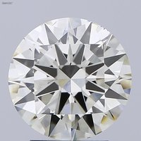 3.00ct K VS2 Round Brilliant Cut Diamond HRD Certified Stone TYPE2A