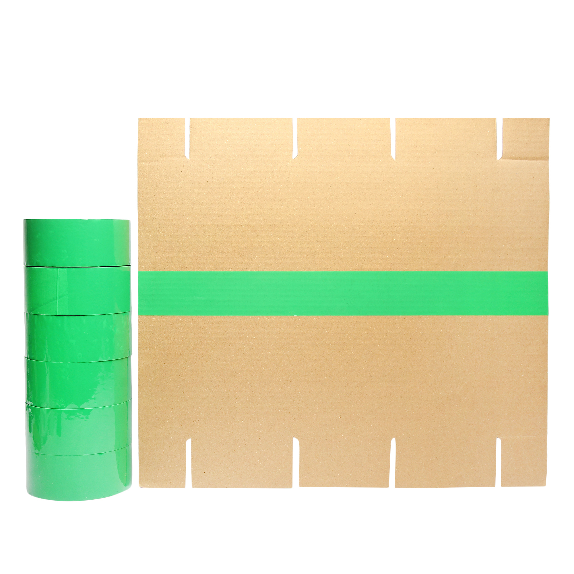 Self Adhesive Green BOPP Tape