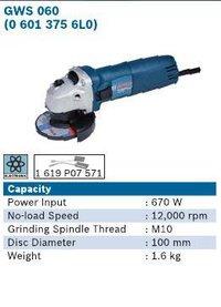 670 Watt 4 Inch Angle Grinder