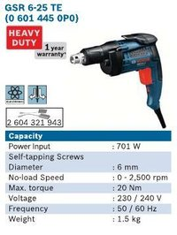 701 Watt Screwdriver