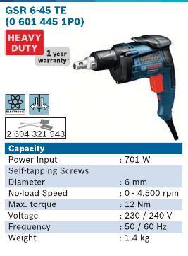 701 Watt Screwdrivers