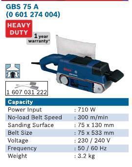710 Watt Belt Sander