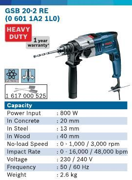 800 Watt Impact Drill