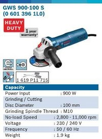 900 Watt 4 Inch Angle Grinder