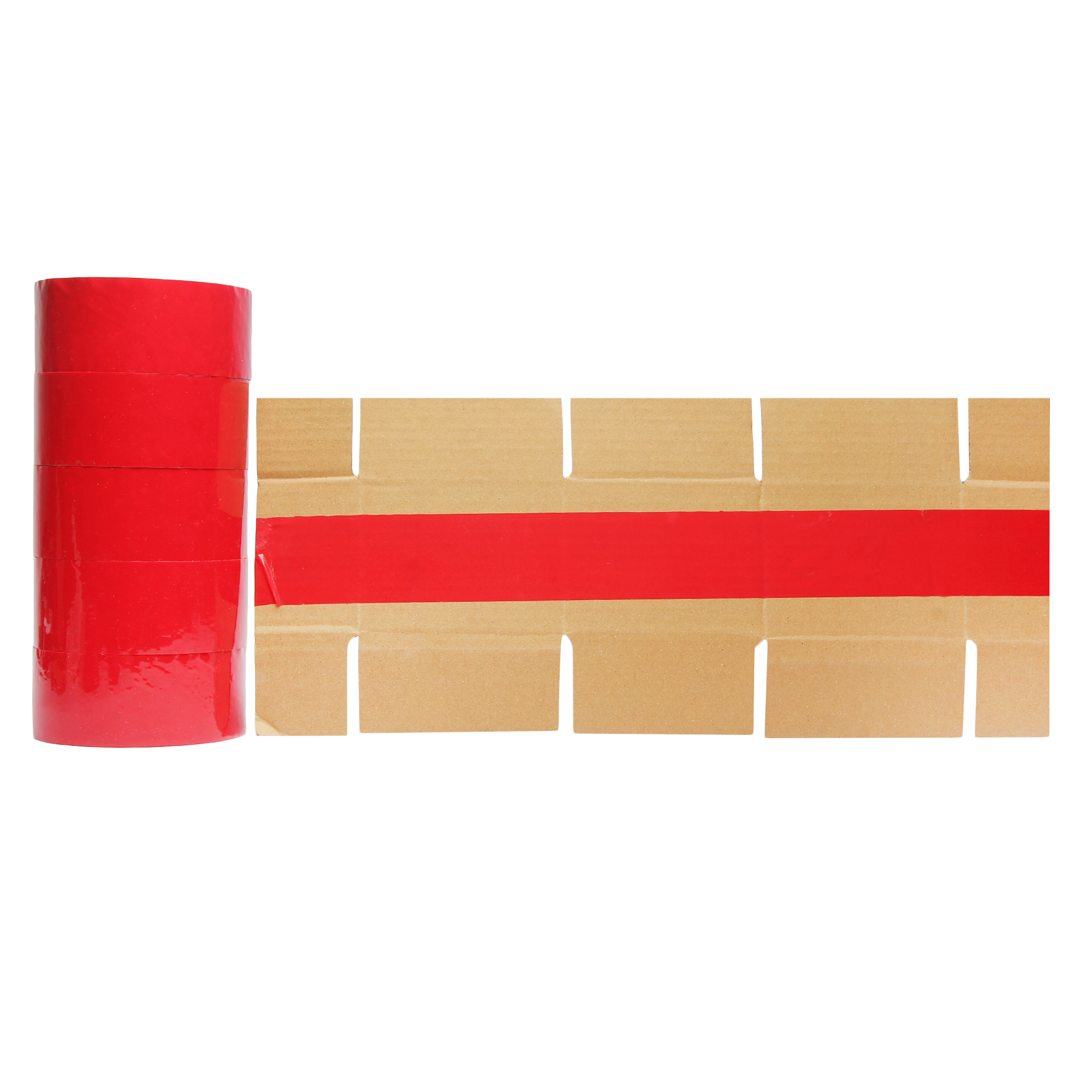 Red colour BOPP Tape