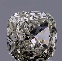 CVD 2.03ct J VS1 CUSHION Cut diamond Lab Grown TYPE2A