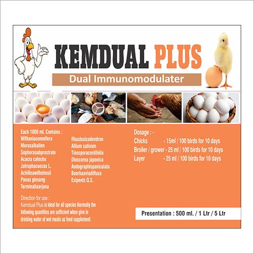 Dual Immunomodulater Animal Feed Supplement