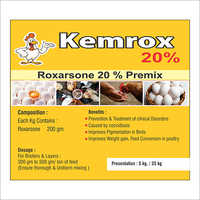20 Percent Roxarsone Perxim For Animal