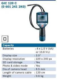 GIC120C Cordless Inspection Camera