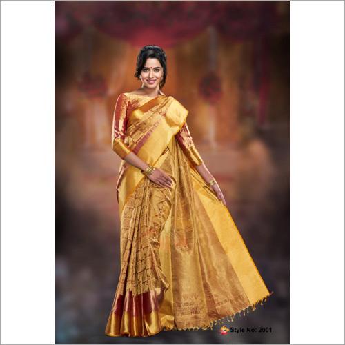 Pure Village Cotton Silk Saree