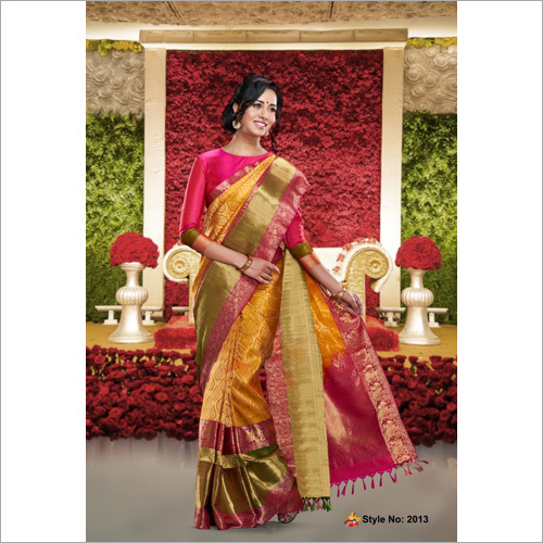 Fancy Traditional Silk Saree