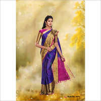 Linen Cotton Silk Sarees