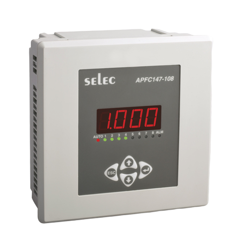 Selec APFC347-108-230V Power Factor Controller
