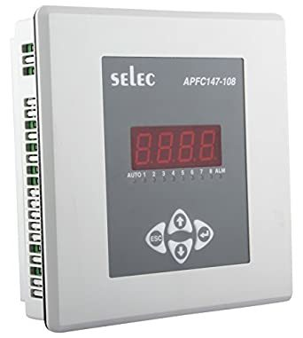 Selec APFC147-108-90/550V Power Factor Controllers