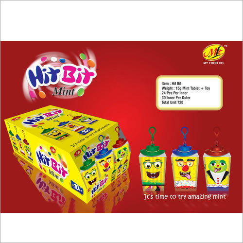 Hit Bit Mint Toy Candy