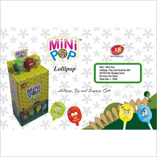 Mini Pop Toy Candy
