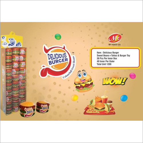 Delicious Burger Toy Candy