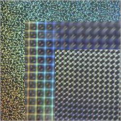 Multicolor Holographic Paper Board