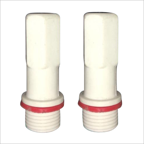 6 Pel White Long Plug