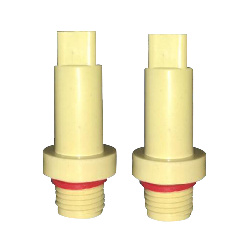 Ivory PVC Long Plug