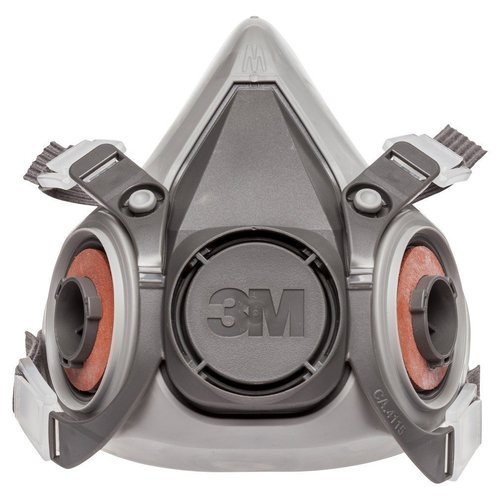 3M 6200 Half Face Reusable Respirator Mask