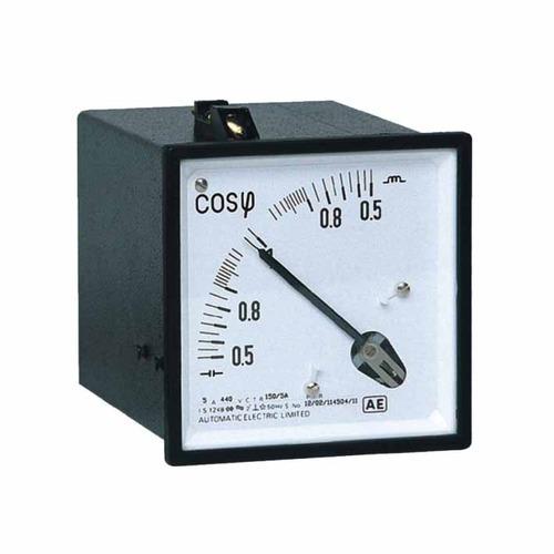 Selec AM-PF-3-3P1E-0.5 CAP- 1-0.5 IND-415V-5A Analog Meter