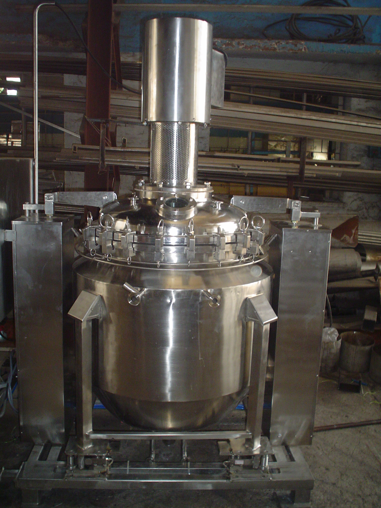 Stainless Steel Pressure Vessels