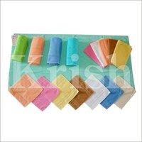Solid Crape Towels