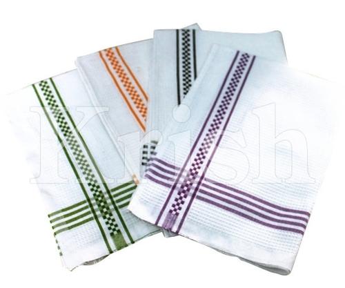 Honey Comb Kitchen Towels - Big Checks