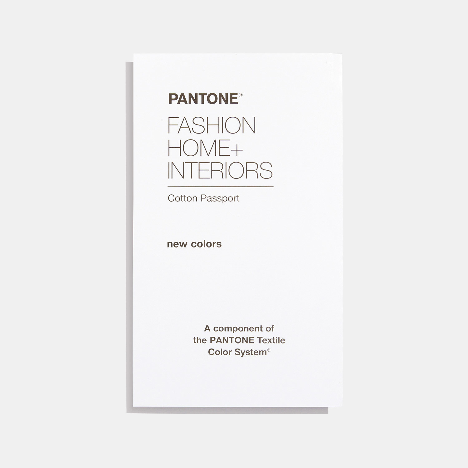 Fashion, Home + Interiors Cotton Passport Supplement